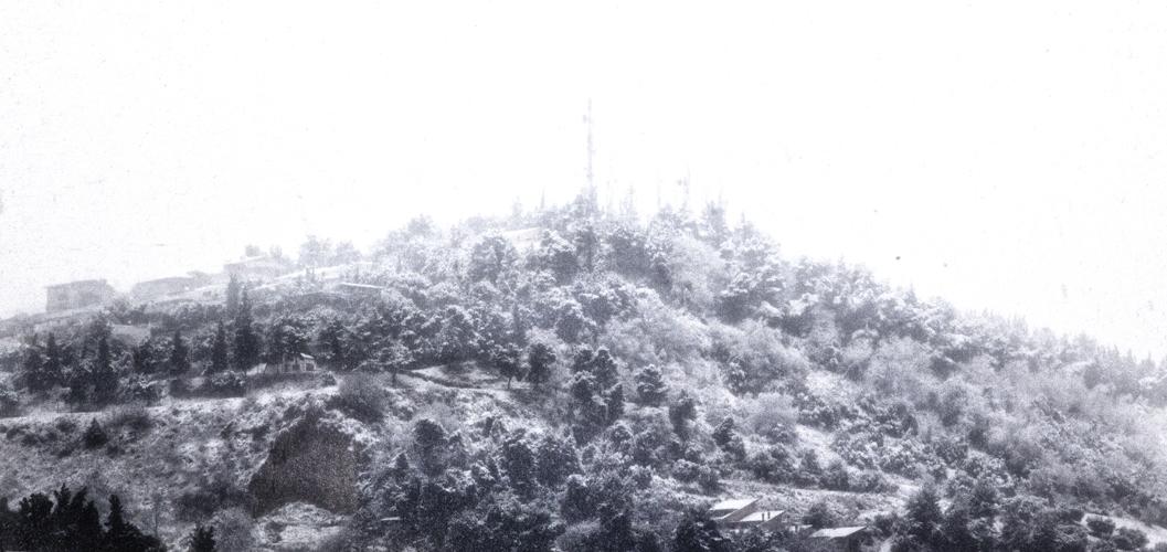 Neve febbraio 2012, Alberto Maranesi, colline grottammaresi come un sogno