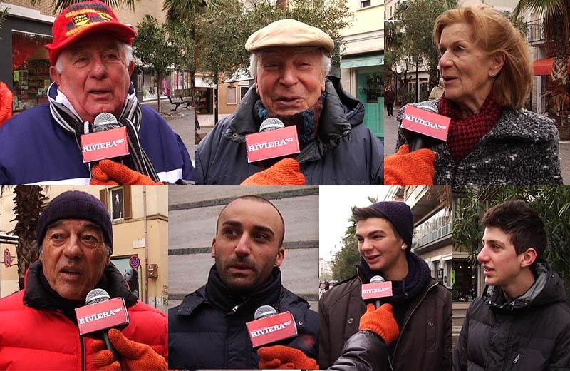 Neve febbraio 2012, interviste