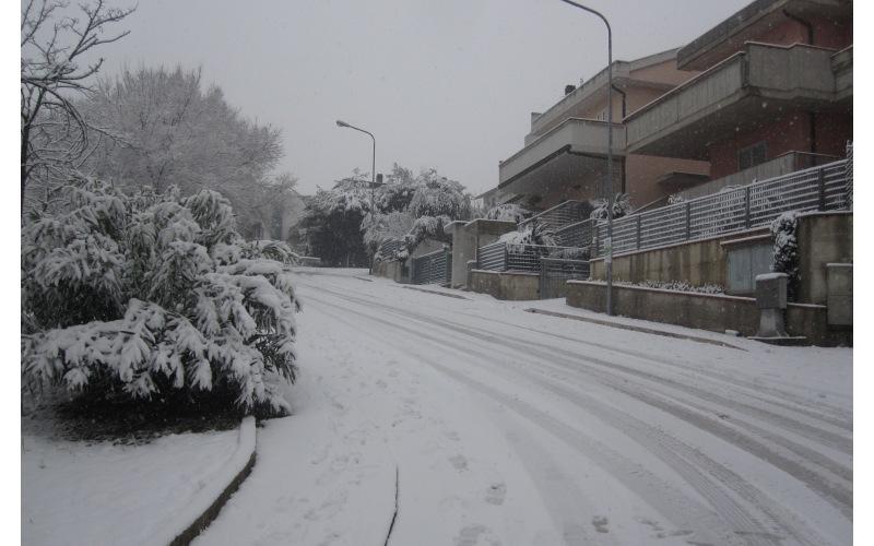 Neve in via Cilea 2
