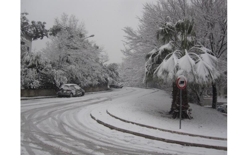 Neve in via Cilea 3