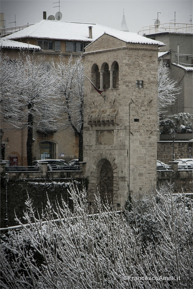 Neve su Ascoli, Tufilla (Ameli)