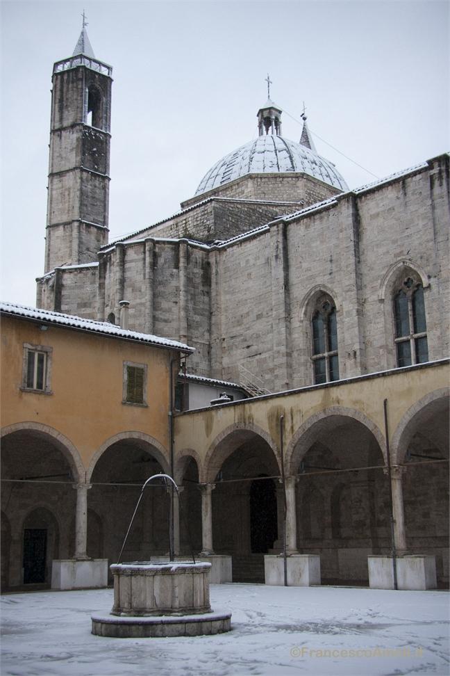 Neve su Ascoli 3 febbraio, San Benedetto (Ameli) 4