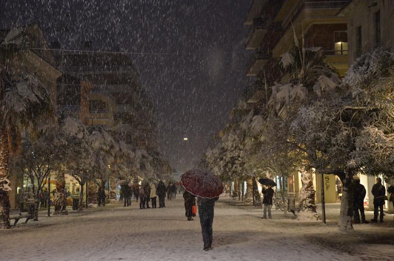 Neve su San Benedetto, 3 febbraio, Franco Moretti