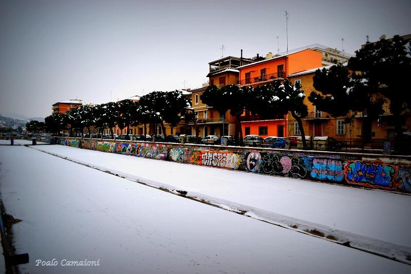 Neve sull'albula, 7 febbraio 2012 foto Paolo Camaioni