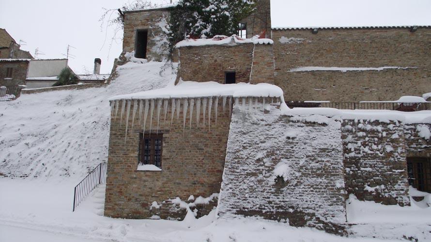 Offida sotto la neve, febbraio 2012, Erica Capriotti 1