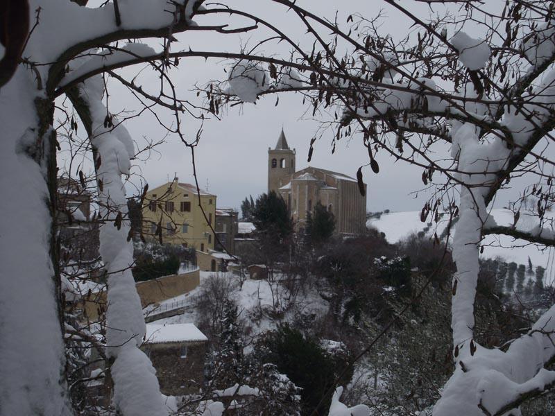Offida sotto la neve, febbraio 2012, Erica Capriotti 2