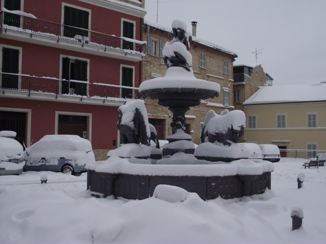 Offida sotto la neve, febbraio 2012, Erica Capriotti 3