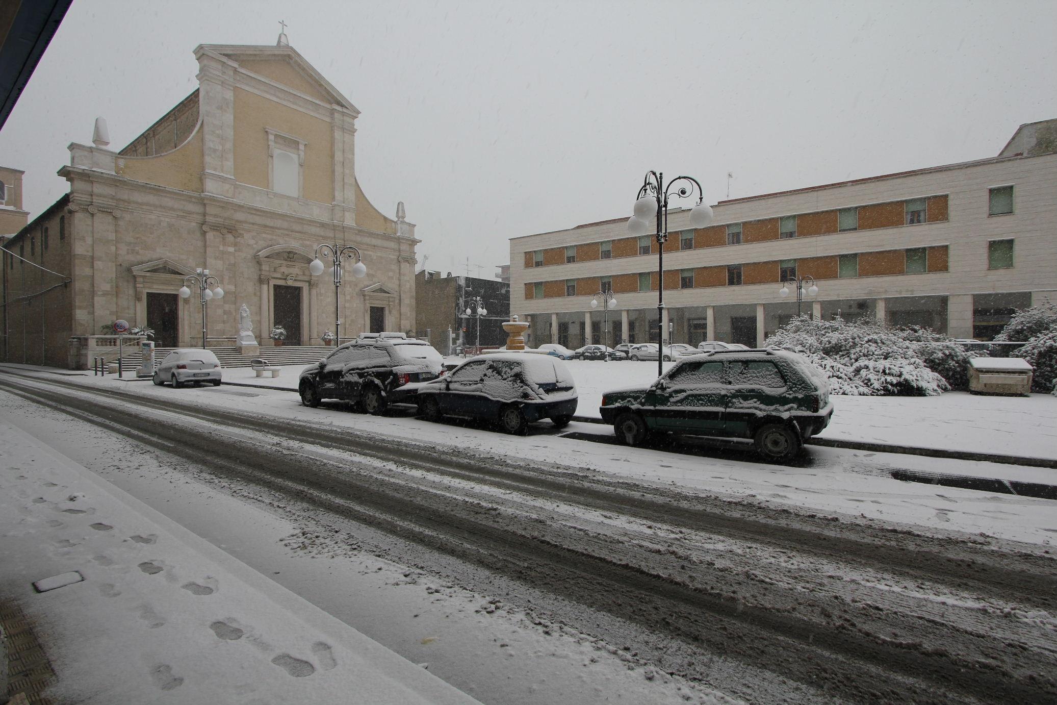 Piazza Nardone  3 febbraio 2012, foto di Antonio I.