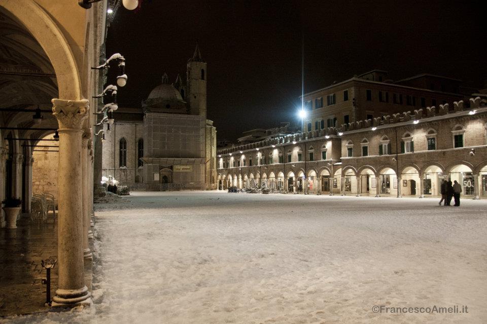 Piazza del Popolo, 3 febbraio (ameli)