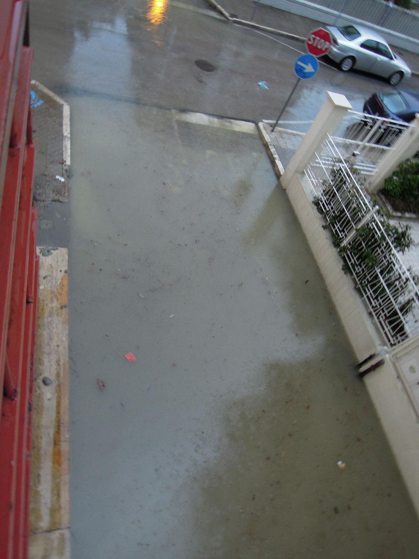 Pioggia 21 febbraio, allagamenti quartiere Sant'Antonio zona via Monfalcone (Fulvio Baiocchi) 3