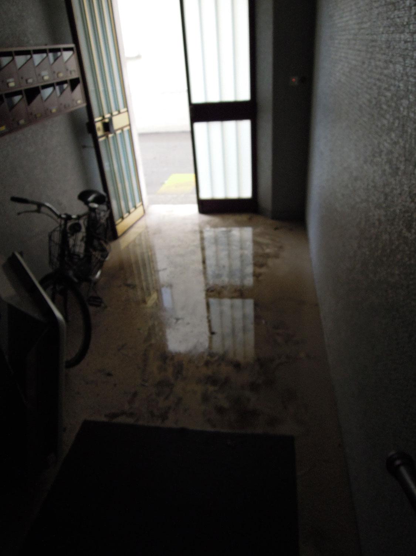 Pioggia 21 febbraio, allagamenti quartiere Sant'Antonio zona via Monfalcone (Fulvio Baiocchi) 4