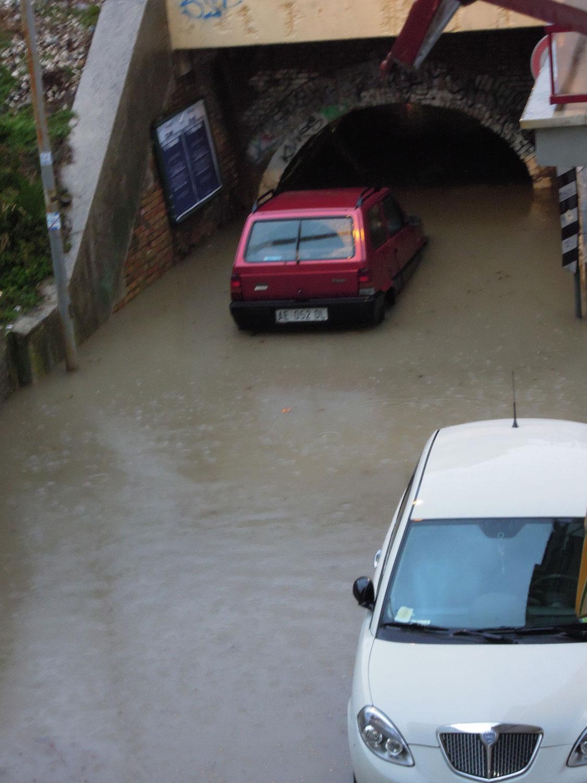 Pioggia 21 febbraio, pontino quartiere Sant'Antonio (Fulvio Baiocchi) 1