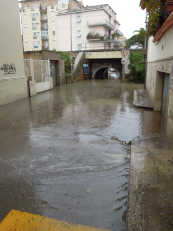 Pioggia 21 febbraio, pontino quartiere Sant'Antonio (Fulvio Baiocchi) 2