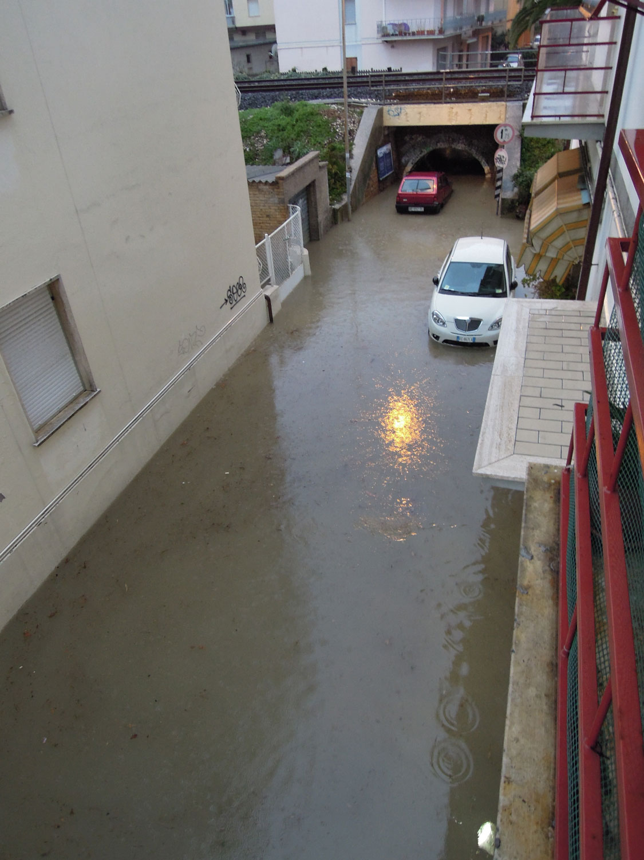 Pioggia 21 febbraio, pontino quartiere Sant'Antonio (Fulvio Baiocchi) 3