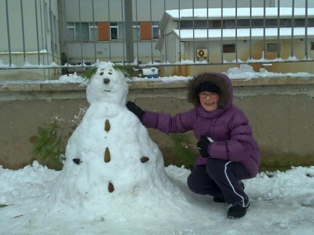 Pupazzo di neve, 4 febbraio 2012