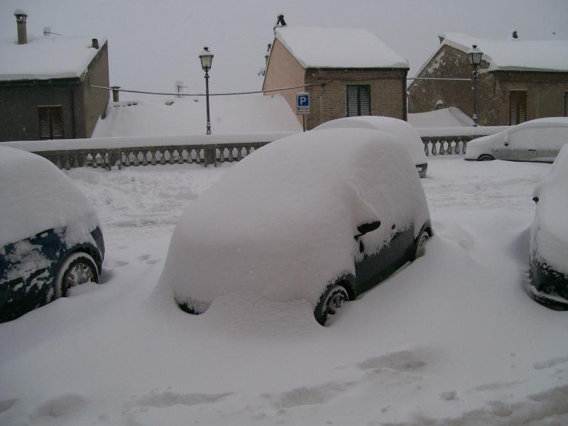 Neve a Ripatransone, 5 febbraio 2012 (Paolo)
