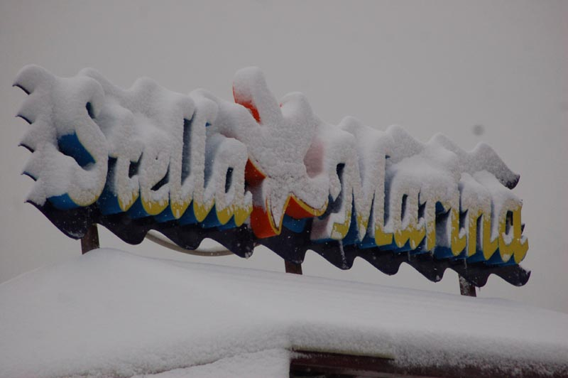 Roberto Bartolomei, neve 3 febbraio, chalet Stella Marina