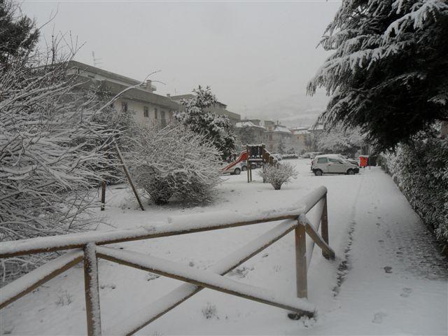 S.Benedetto Tr. - Via del Tiziano neve 4 febbraio (da Federico Olivieri)