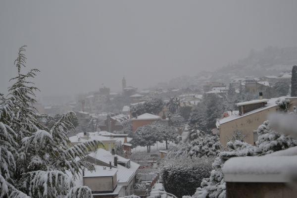 San Benedetto, neve del 3 febbraio 2012, Alfredo Cordisco