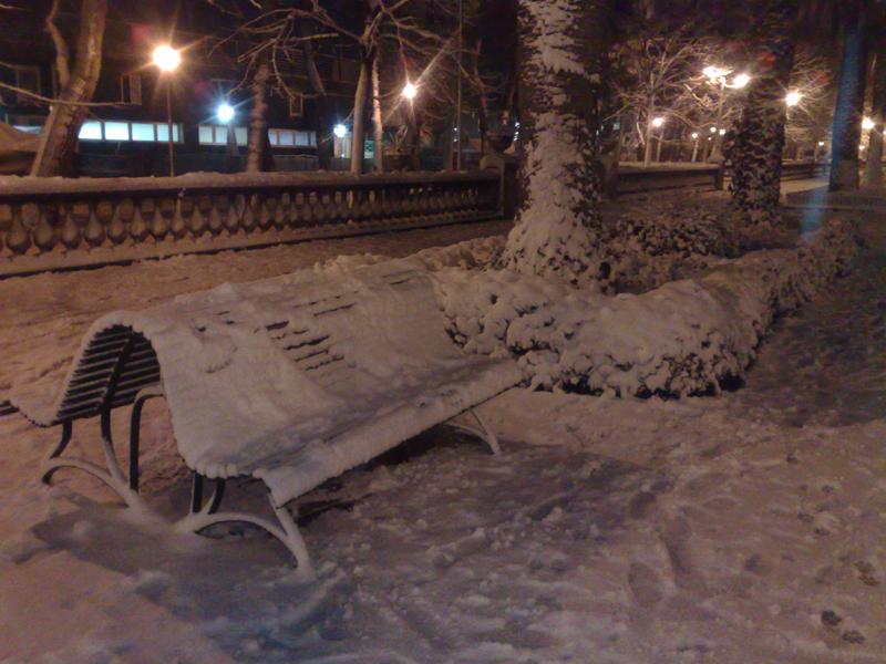 San Benedetto, neve del 3 febbraio, foto di Emanuela Maranesi 6