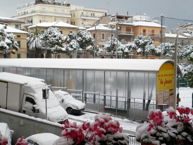 San Benedetto, neve febbraio 2012, lu fusse, serena stella spina
