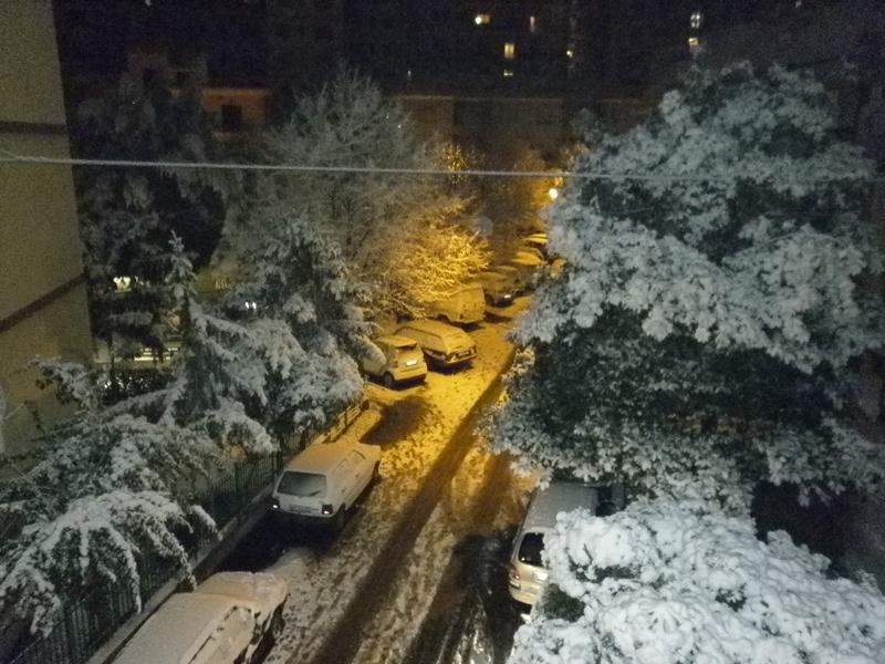 San Benedetto, neve febbraio 2012 (serena stella spina)