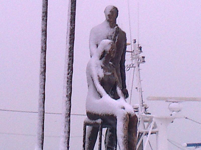 San Benedetto, neve febbraio 2012,