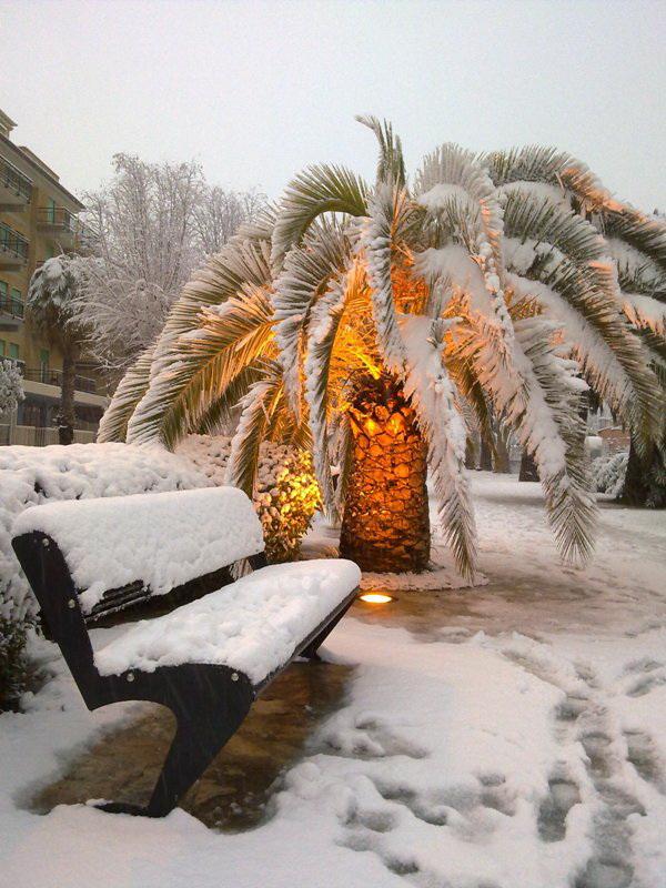 San Benedetto neve febbraio giampiero perozzi