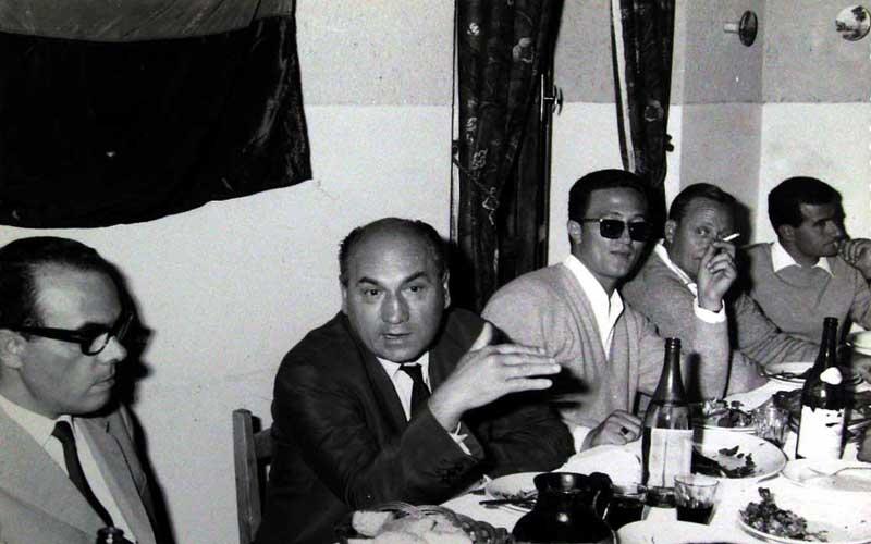 Da sinistra Silvano Di Lorenzo, Alberto Gaetani, Luciano Calabresi, Alberto Eliani e Patrizio Giostra