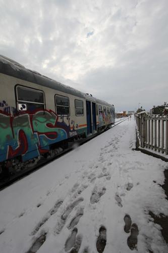 Stazione di Centobuchi, neve 4 febbraio (antonio i.) 3
