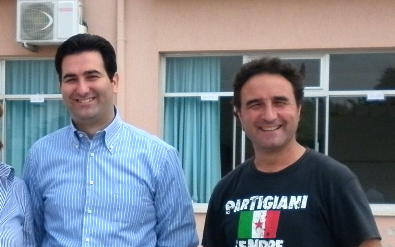 Stefano Stracci e Marino Lattanzi quando si volevano bene