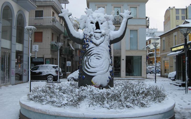Uh uh è arrivata la neve, 4 febbraio, di Stefano Eugeni di Oikos immobiliare