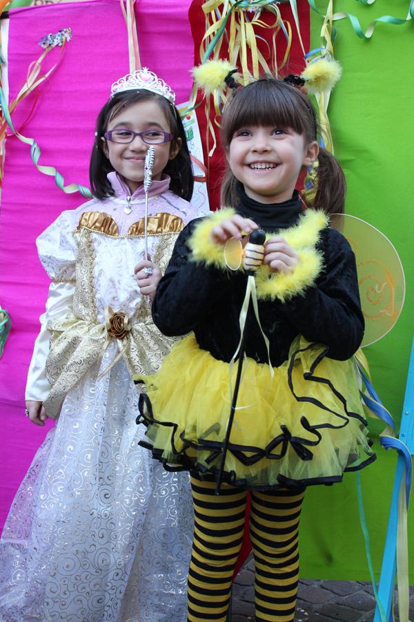 L'ape pungerà la principessa? Sono Benedetta e Letizia M.