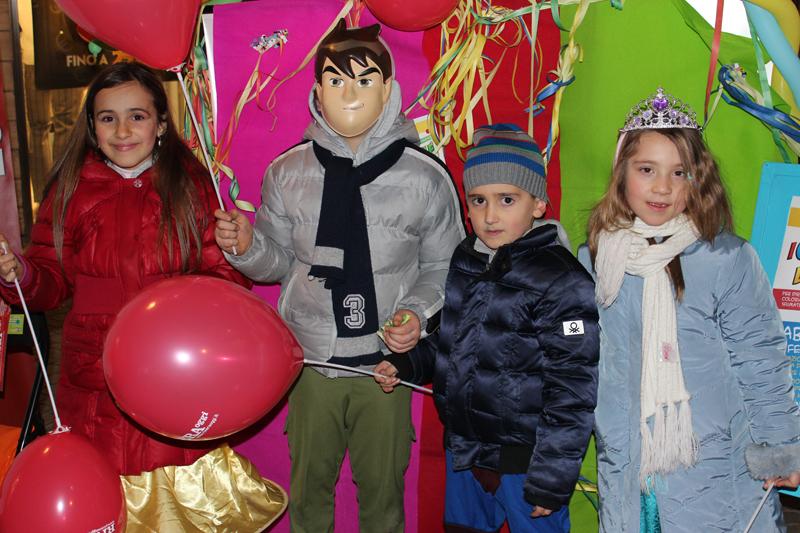 Ben Ten è Mattia T., Superman è Luca P., le principesse sono Matilde P. e Priscilla T.