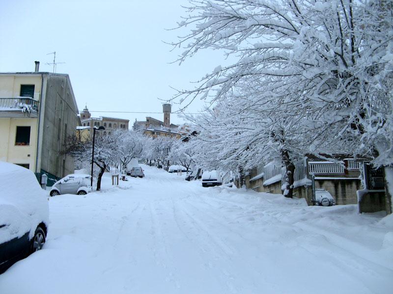 Neve a Colonnella 3 febbraio 2012 (Marco Carlini)