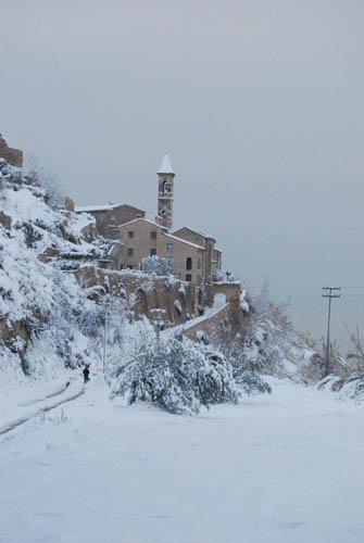 Neve a Cupra, 7 febbraio 2012 foto Eros Santori