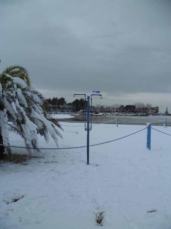 Foto della neve di Francesco Di Biagio, la doccia