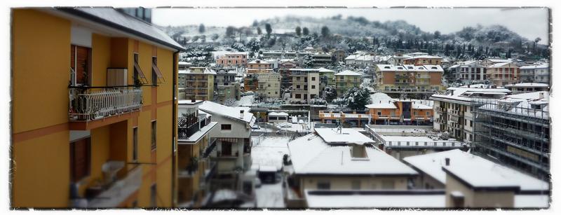 La neve vista da Walter Vagnarelli