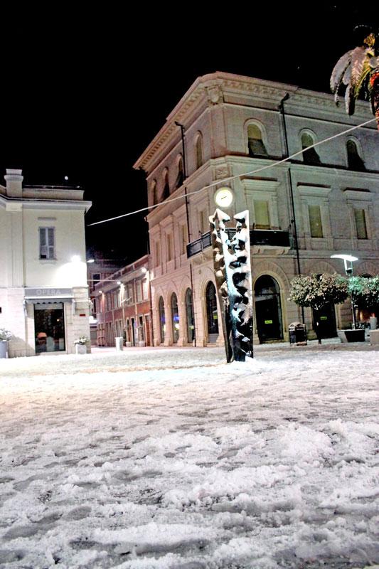 Neve a Grottammare 4 febbraio 2012 (Maurizio Paoletti)