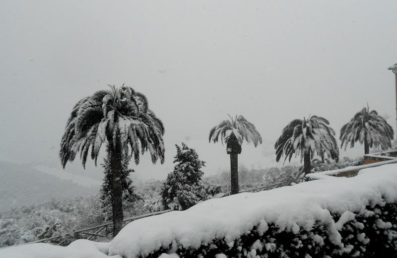 Neve a Monteprandone 3 febbraio 2012