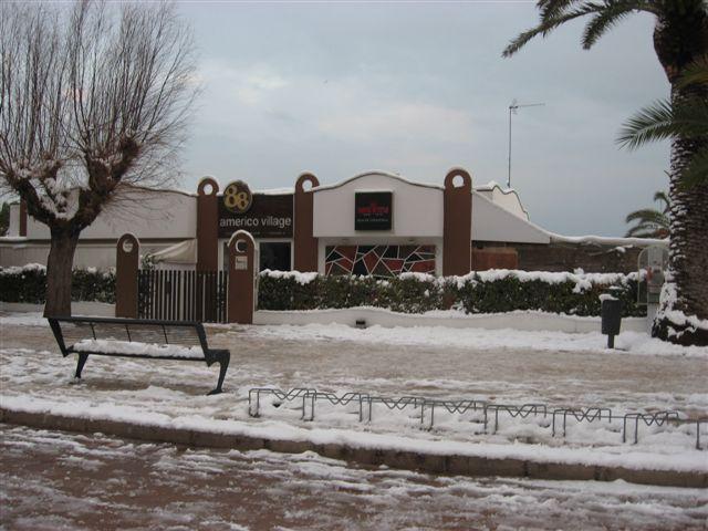 Neve a SBT il 3 febbraio, foto di Elfrida Traini