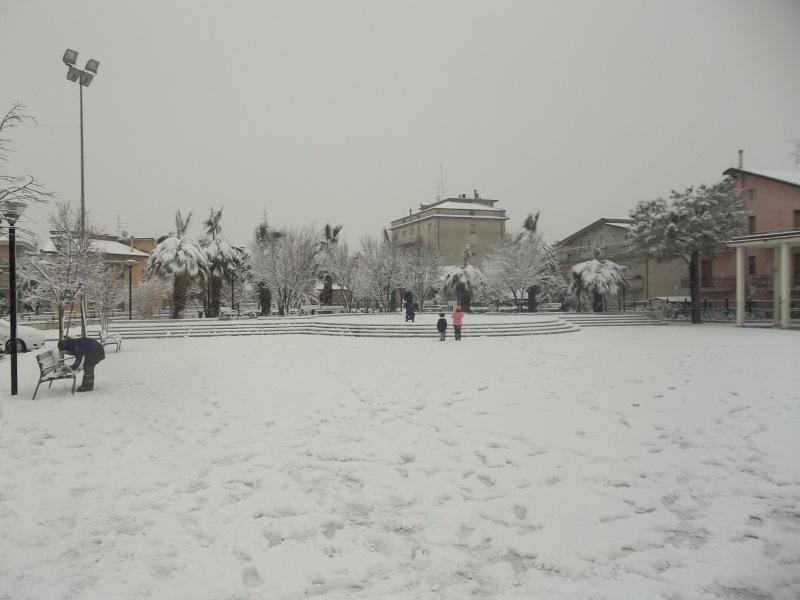 neve a centobuchi del 4 febbraio di Luca Lanciotti