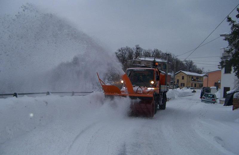 Neve a Roiano di Campli (foto De Remigis Agostino)