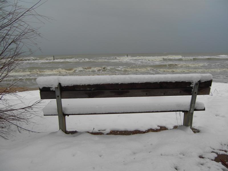 Sarà il mare che guarda la neve o la neve che guarda il mare? Di Claudio Portelli