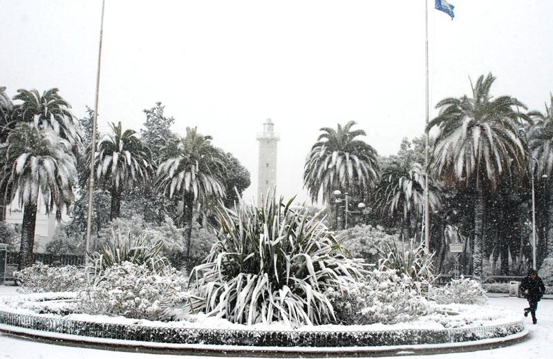 Neve a San Benedetto 3 febbraio (Lorenzo Nico)