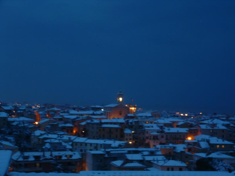 Neve a San Benedetto 4 febbraio 2012 (Fabio Viviani)