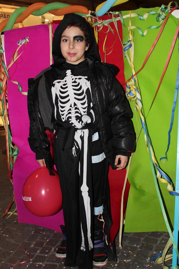 Emanuele M., uno scheletro spaventoso ma simpaticissimo
