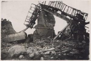 Foto scattata da un militare tedesco dopo la tragedia
