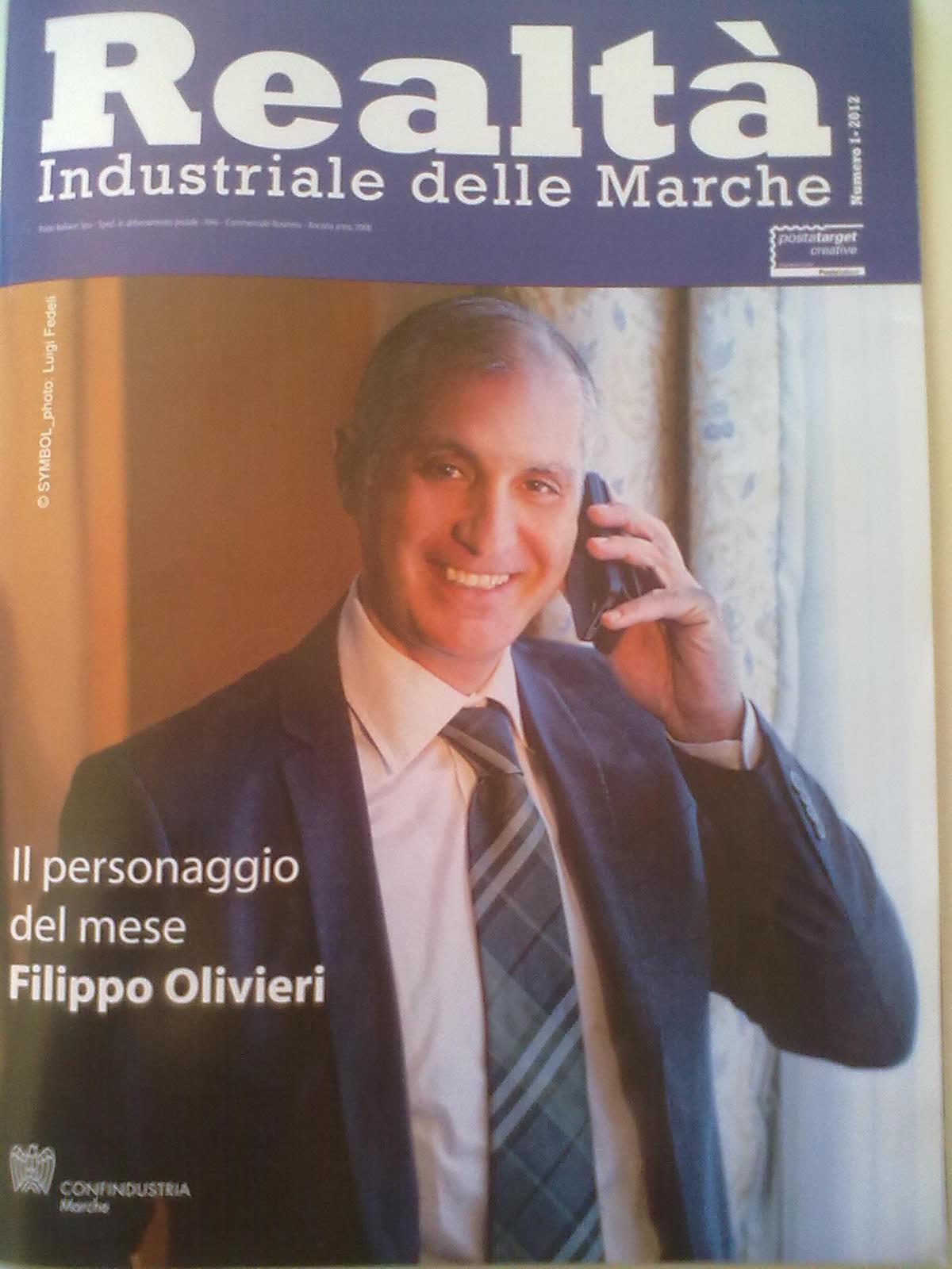 Filippo Olivieri, copertina