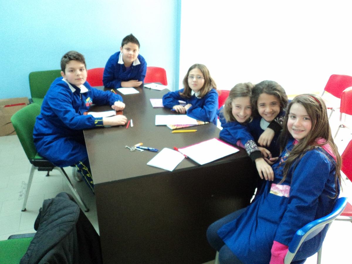 Alcuni alunni della classe 5 C che hanno partecipato ai corsi opzionali della scuola Giuseppe Speranza